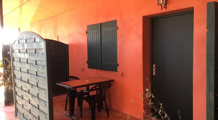 Terraza de la habitación 14 del Hotel La Casa Nova