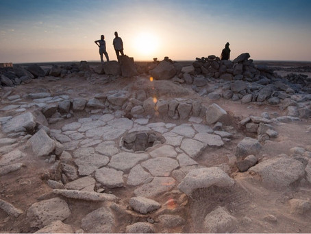 Archaeologist discovered 14,400 year old bread in Jordan. This predates agriculture by 4000 years.