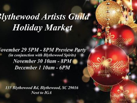 Blythewood Artist Guild Holiday Market