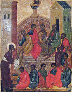 Disciples feet washing