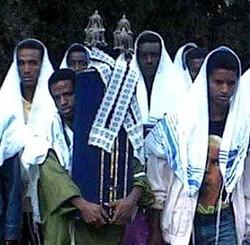 Ethiopian Jews parade