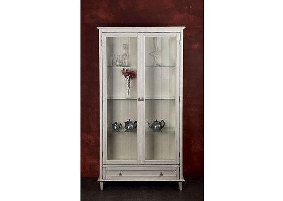Витрина 2-х дверная с ящиком