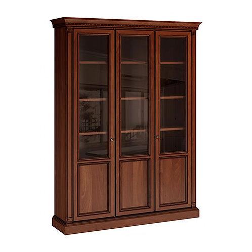 """Библиотека 3-х дверная """"Венеция"""" вишня """"Venezia"""""""