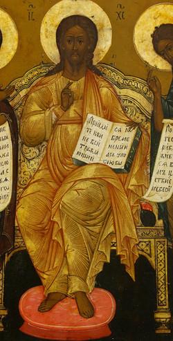 black Ashuwah (Jesus) Russian Icon