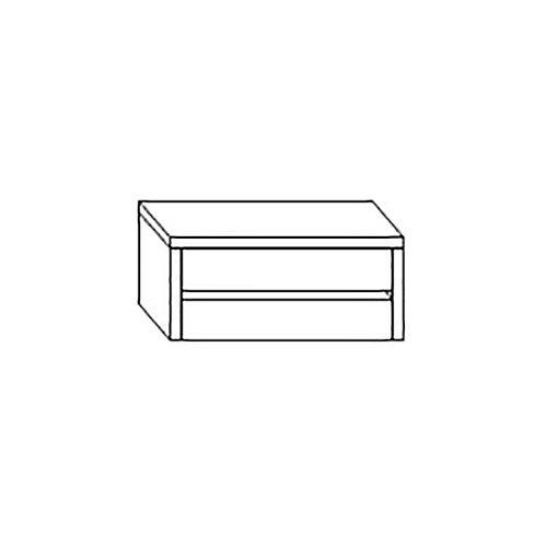 Кассетница для двухстворчатого шкафа Венеция белая