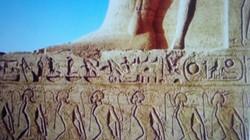 RAMSES II Sphinx Egyptian slaves carving