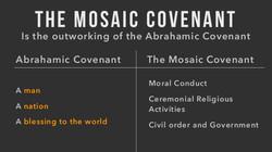 Mosaic Covenant comparison