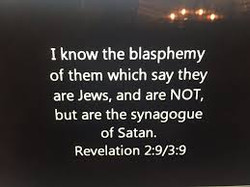 Revelations 2:9 & 3:9