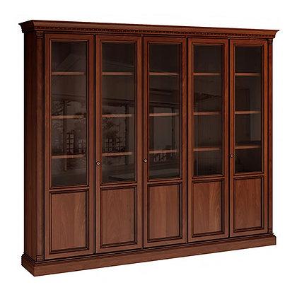 """Библиотека 5-ти дверная """"Венеция"""" вишня """"Venezia"""""""