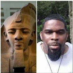 Egyptian statute and Israelite (African Amer.)