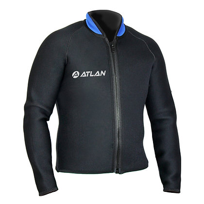 Atlan 3 OR 5 mm unisex Bolero Jacket (M3W-60R-JA)