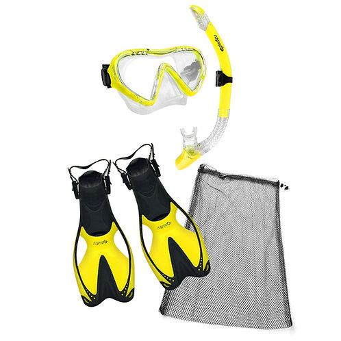 Rapido Mask, Fins and Snorkel Junior Kit