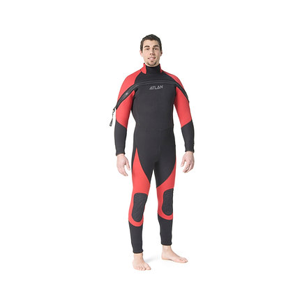 Atlan Nordik Pro SS 5 OR 7mm Wet Suit for Men (ATL5J90SSFZM & ATL7J90SSFZM)