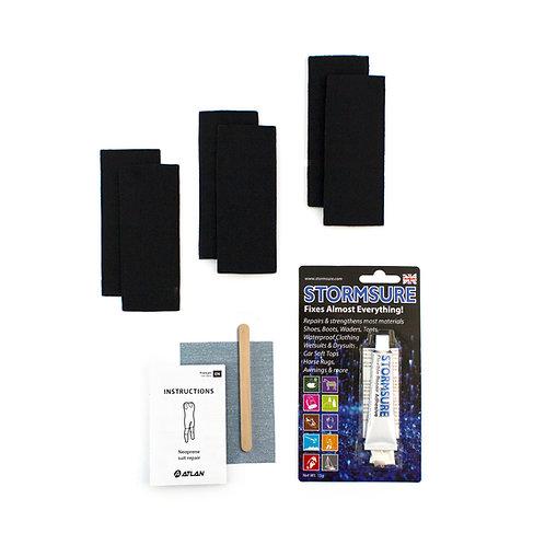 Kit de réparation de vêtement en néoprène (KRNEO)