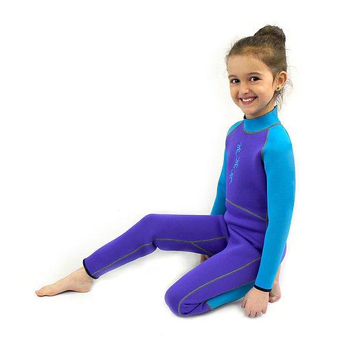 Atlan 2mm Long Neoprene Jumpsuit Cool kids for Kids (EDCKJ-08NK)