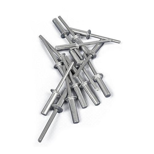 Aluminium rivets 3/16 X 3/4 (box of 100) (POP-14)