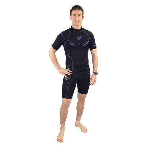 Aqualine Men's 2.5mm Shorty (ATLSP25SMK)