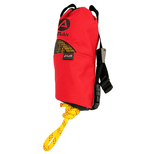 Conical Throw Bag, 50 ft of 7.9mm Rope Single Braiding (ATB-5079)