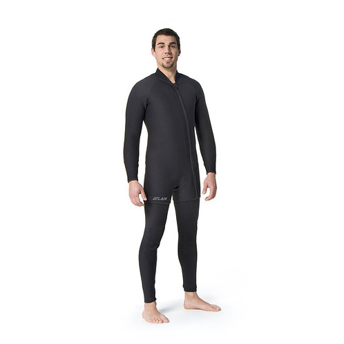 Atlan 3mm Two Piece Wet Suit for Men (ATL3WM)