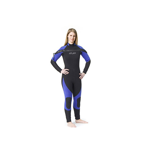 Atlan Nordik Pro SS 5 OR 7mm Wet Suit for Women (ATL7J90SSFZW & ATL7J90SSFZW)