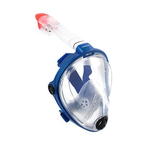 Head snorkeling mask
