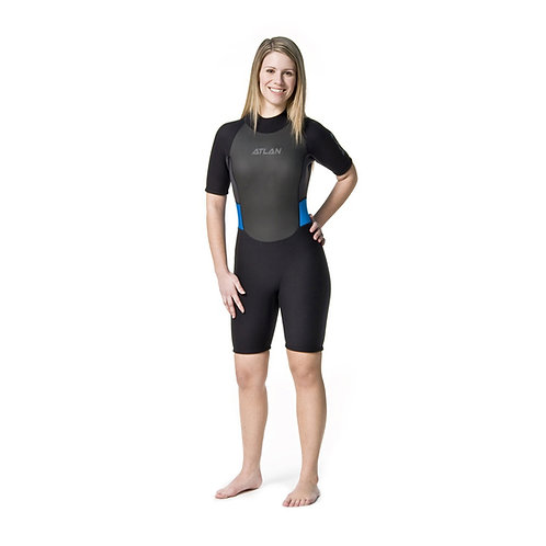 Atlan Superstretch 3mm Shorty for Women (ATL3/2SSSW)