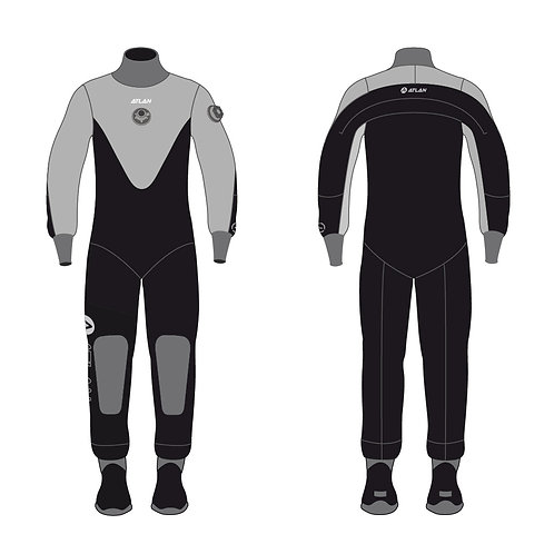 Atlan North Shore Comp Drysuit (NSC-40BZ)