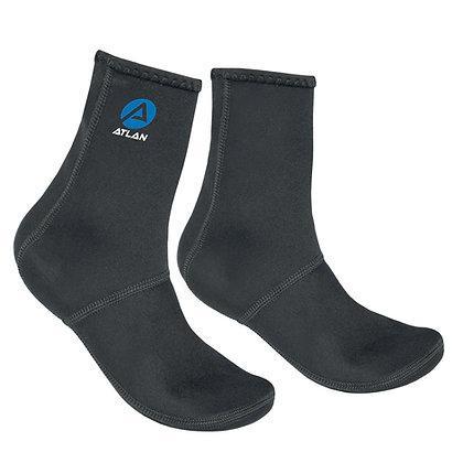 Atlan 3mm N-2-S Socks (NS-3K)