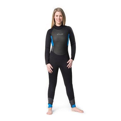 Atlan Woman's 3/2 mm Flextec Jumpsuit (FT-32-WJK)