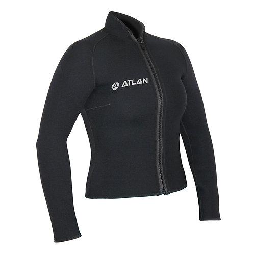 Atlan 3 OR 5 mm Women Bolero Jacket (W3W-60R-JA/W5W-60R-JA)