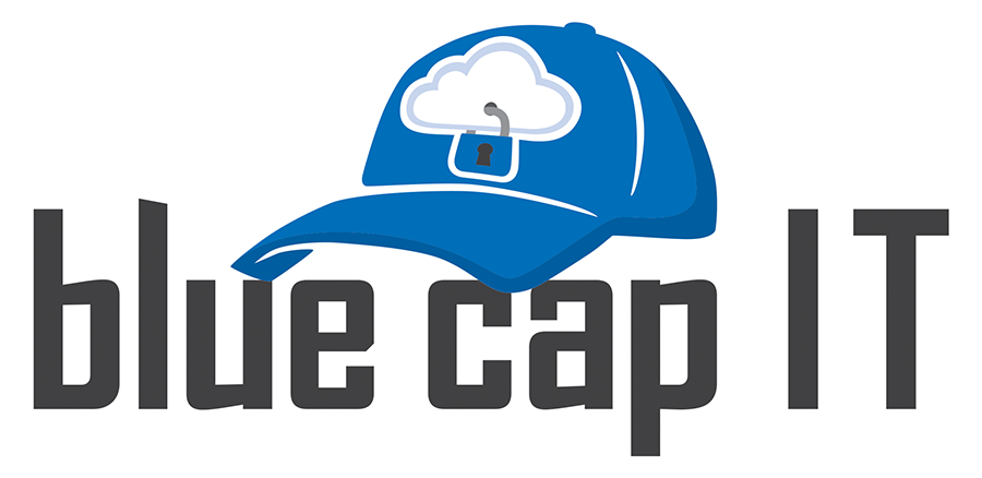Blue Cap IT Logo