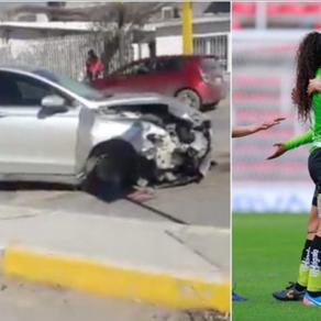 6 JUGADORAS DEL FC JUÁREZ SUFREN ACCIDENTE.