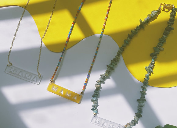 Make Your Own Mama Necklace