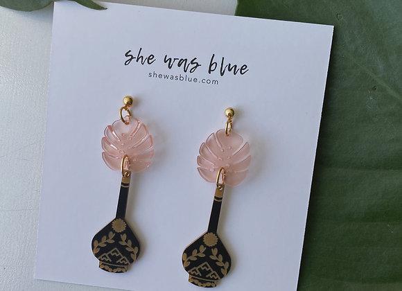 Grandma's Vase Earring Pink | Shannon Ferrari Artist Collaboration