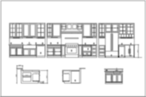 Cabinetry drawings elevations