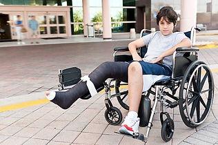 kid cast wheelchair.JPG