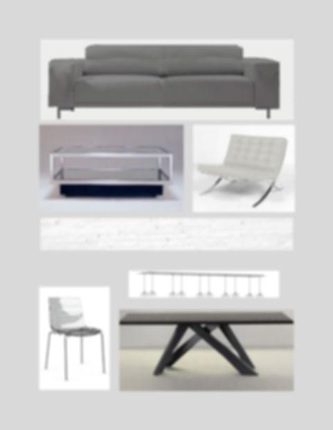 sample of modern furniture