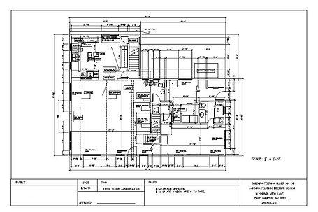 Sample Construction drawing