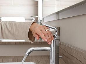 Universal Design Hamptons, lever faucets, accessible design Hamptons