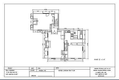 Existing Condition Drawing - Space Planning