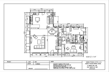 Preliminary Schematic Design Drawing Example