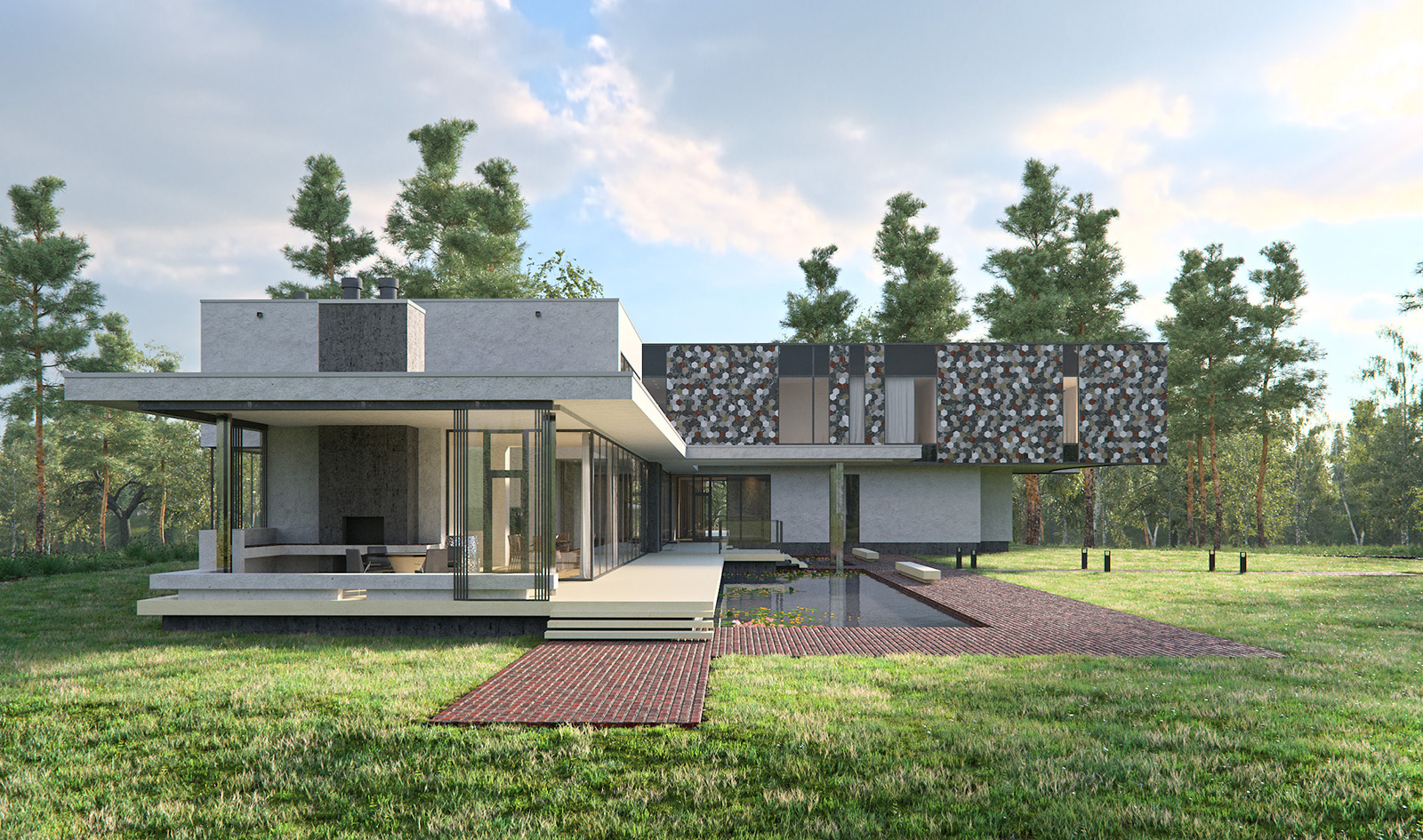Luxury House | 3D visualization