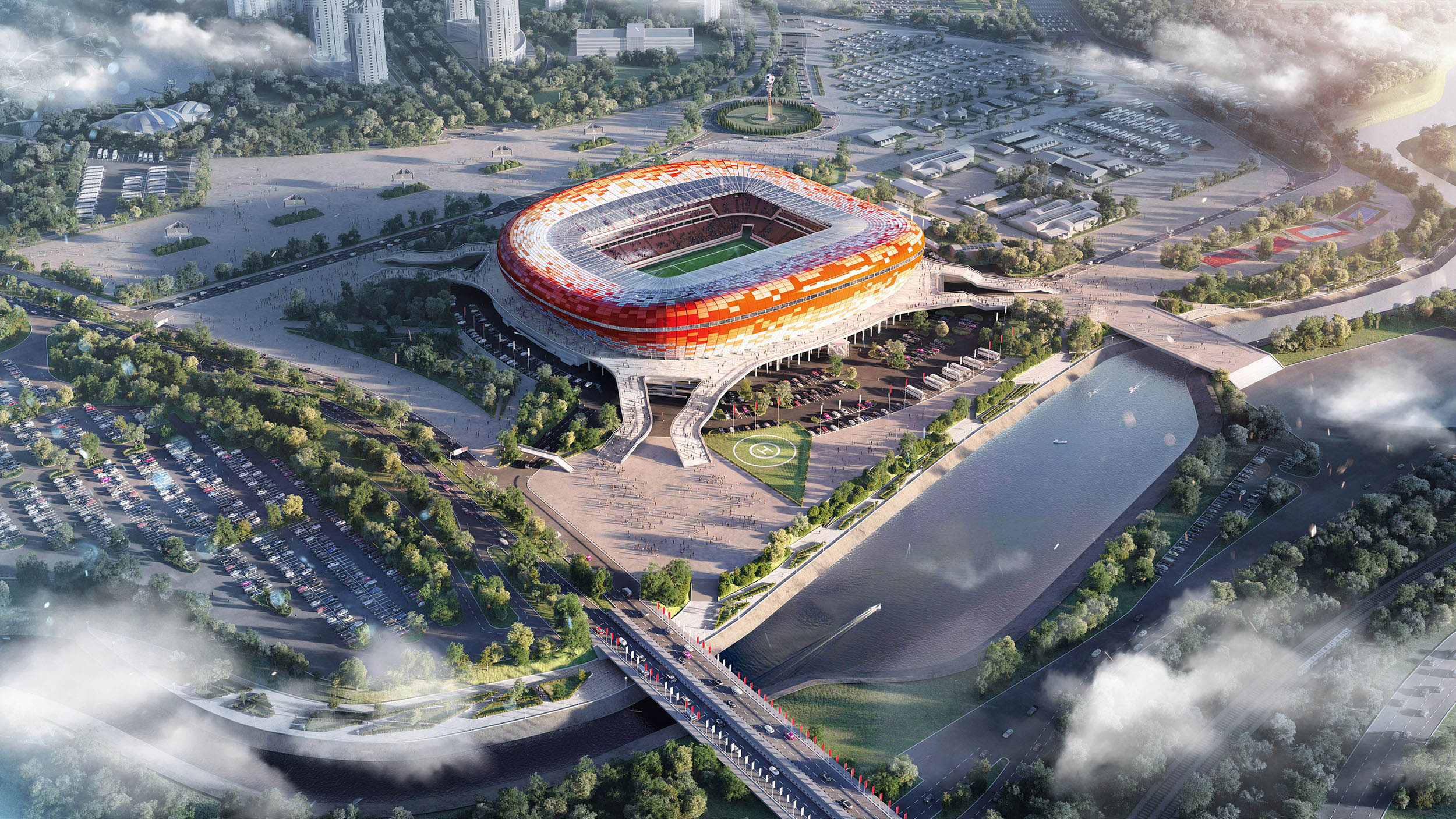 FIFA 2018 Stadium | 3D visualization