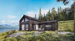Wood Cabin House