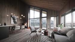 Living Room | 3D visualization