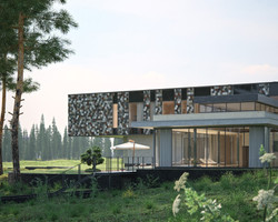 Luxury House | 3D visualization