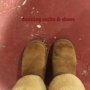 Donning Socks & Shoes