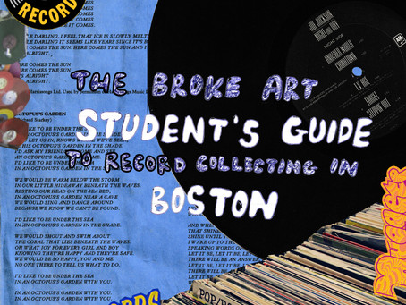 The Broke Art Student's Guide to Record Collecting in Boston