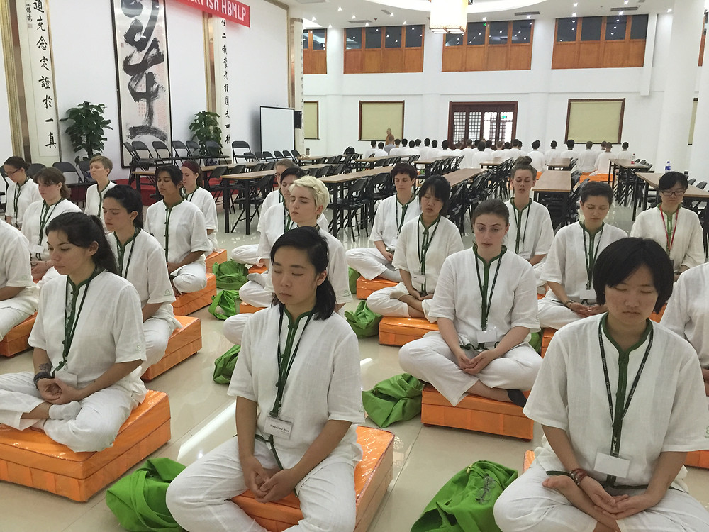 Meditation Lesson at Longfu Temple