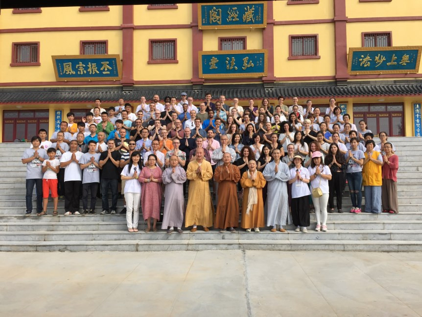 HBMLP with the community of Doushuai Temple